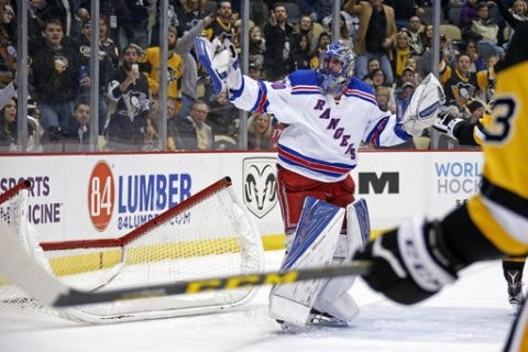 new-york-rangers-goalie-henrik-lundqvist-30-gestures-to-an-official-after-pushing-over-the-goal-cage-to-cause-a-stoppage-of-play-after-being-shaken-up-in-a-collision-with-teammate-ryan-mcdonagh-during-the-second-period-an