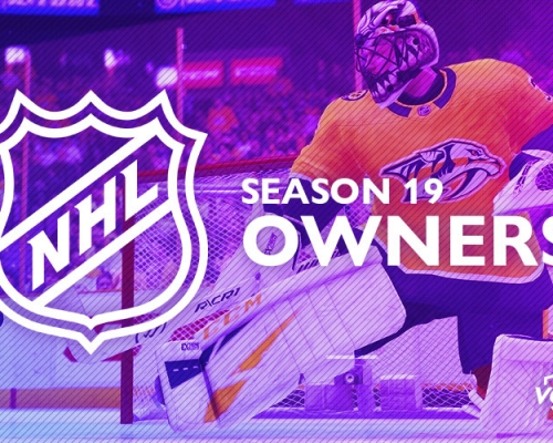 Season 19 NHL Owners