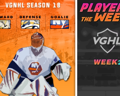 S18 VGNHL Players of the Week - Week 2