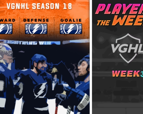 S18 VGNHL Players of the Week - Week 3
