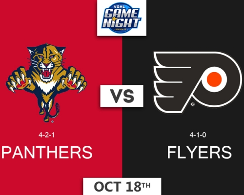 VGNHL Game Night: OCT 18th