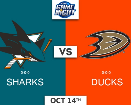 VGNHL Game Night: OCT 14th