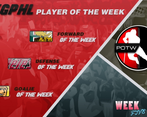 PHL Players of the Week 5