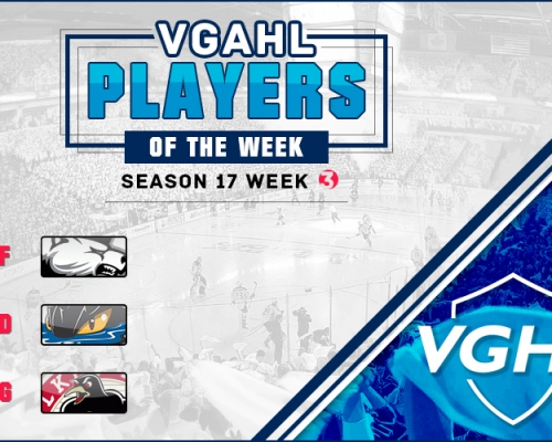 VGAHL S17 Players Of the Week 3