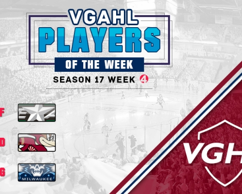 VGAHL S17 Players Of the Week 4