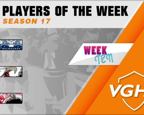 VGAHL S17 Players Of the Week 10