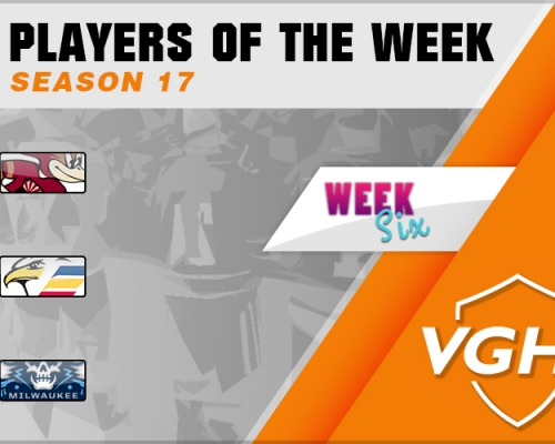 VGAHL S17 Players Of the Week 6