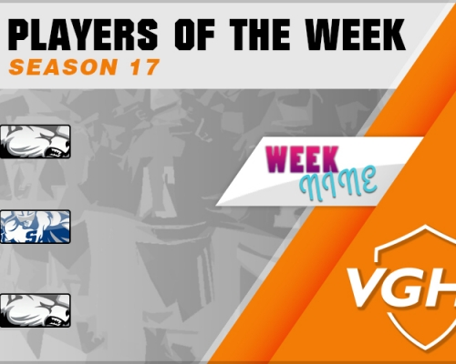 VGAHL S17 Players Of the Week 9