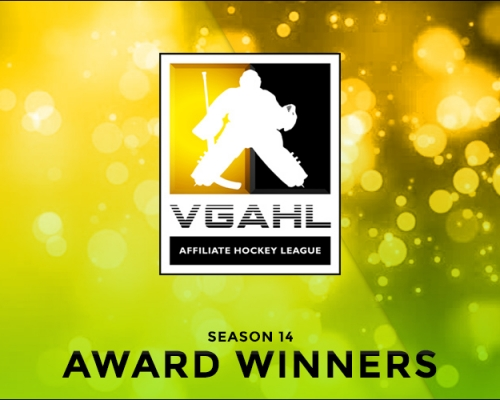 SEASON 14 VGAHL AWARD WINNERS