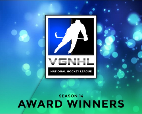 SEASON 14 VGNHL AWARD WINNERS