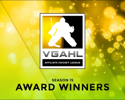 SEASON 15 VGAHL AWARD WINNERS