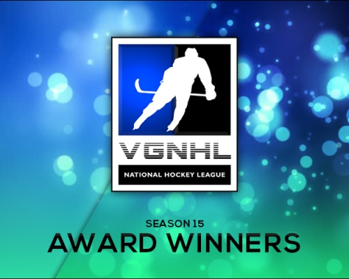 SEASON 15 VGNHL AWARD WINNERS