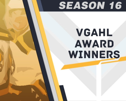 Season 16 VGAHL Award Winners