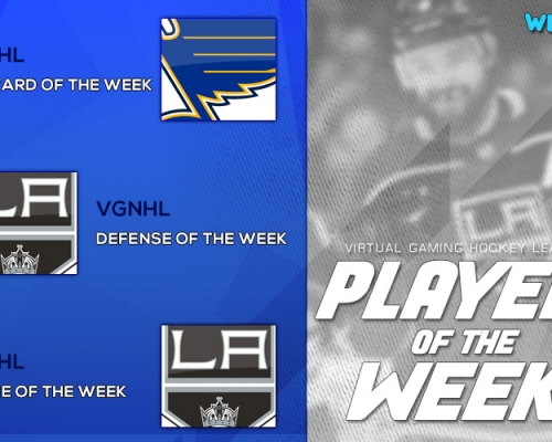 VGHL Players Of the Week 9