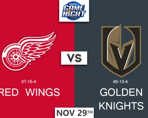 VGNHL Game Night: NOV 29th