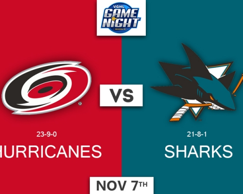 VGNHL Game Night: NOV 7th