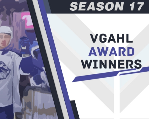Season 17 VGAHL Award Winners
