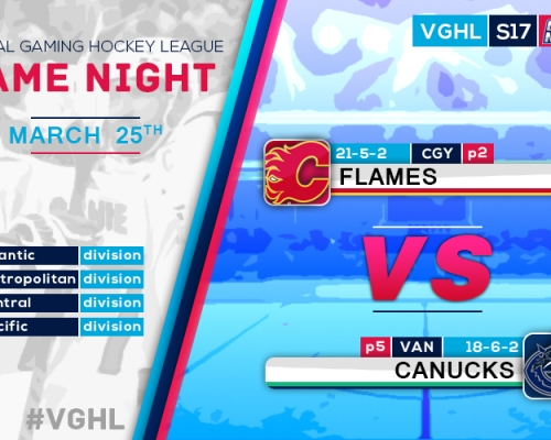VGNHL Game Night: MAR 25th