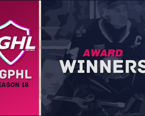 Season 18 VGPHL Award Winners
