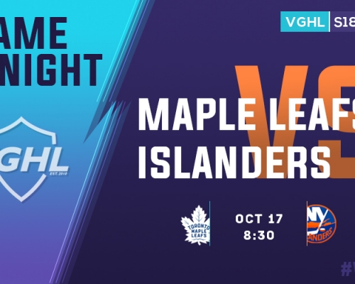 VGHL Game Night: OCT 17th