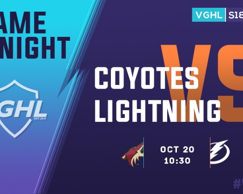 VGHL Game Night: OCT 20th