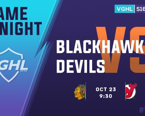 VGHL Game Night: OCT 23rd