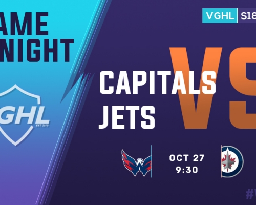 VGHL Game Night: OCT 27th