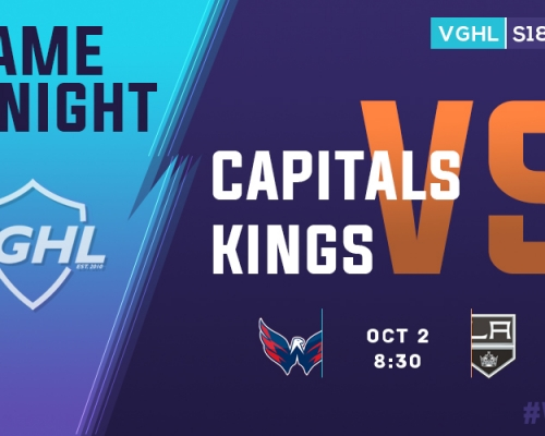 VGHL Game Night: OCT 2nd