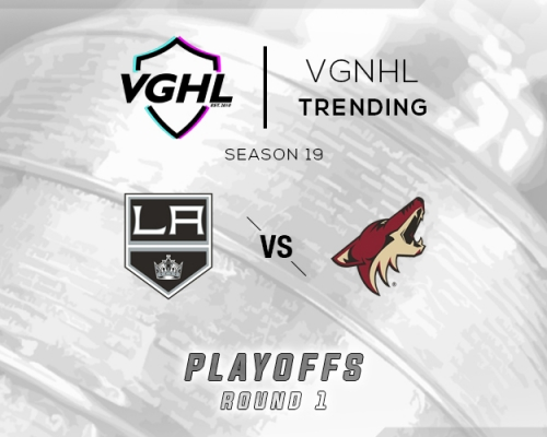 VGNHL Tending: S19 Playoffs LA vs ARI