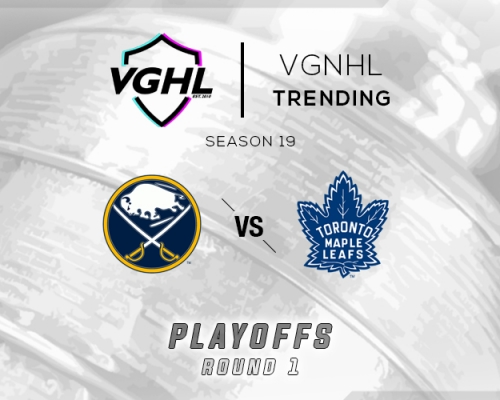 VGNHL Tending: S19 Playoffs BUF vs TOR