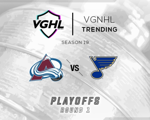 VGNHL Tending: S19 Playoffs COL vs STL