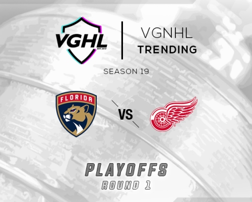 VGNHL Tending: S19 Playoffs FLA vs DET