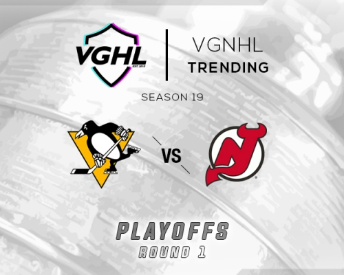 VGNHL Tending: S19 Playoffs PIT vs NJ