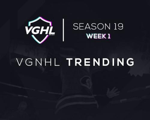 VGNHL Trending: S19 Week 1