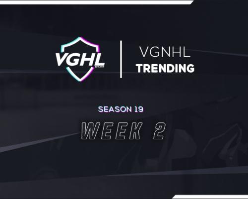 VGNHL Trending: S19 Week 2