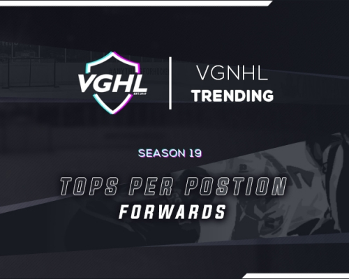 VGNHL TRENDING: S19 Tops at Forward