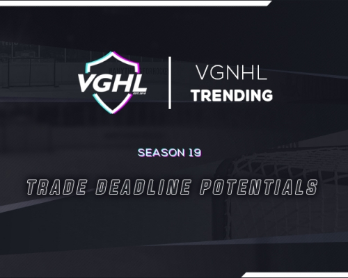 VGNHL TRENDING: TRADE DEADLINE POTENTIALS