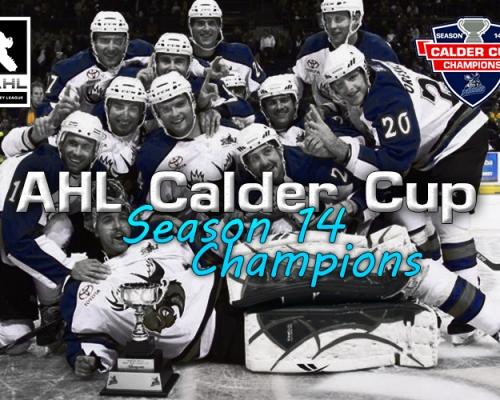 AHL Calder Cup Champions