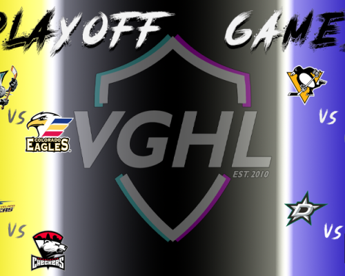 VGHL Playoffs... Are you ready?