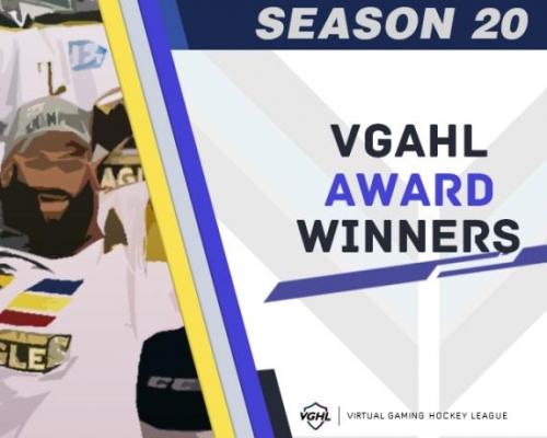 AHL Season 20 Award Winners