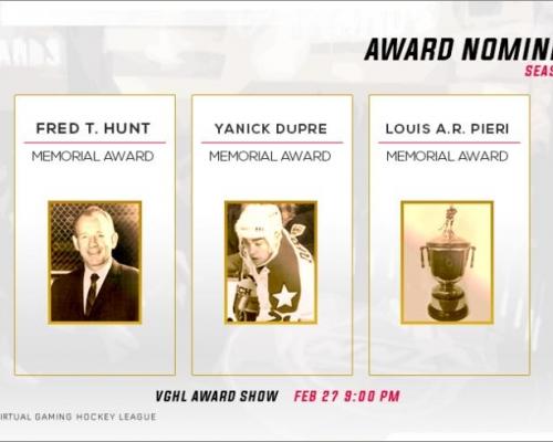 AHL Award Nominees pt 1