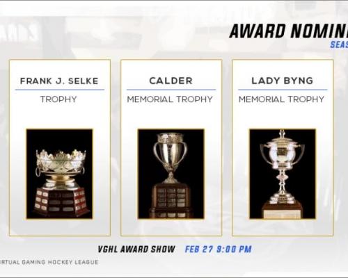 NHL Award Nominees pt2