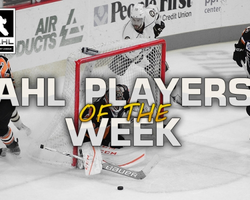VGAHL Players of The Week