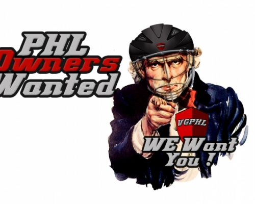 PHL Owners Wanted