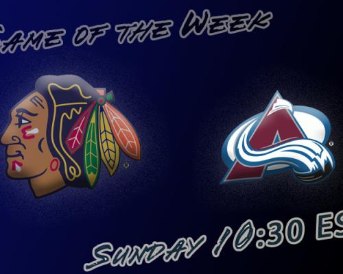 NHL Week 5 GOTW