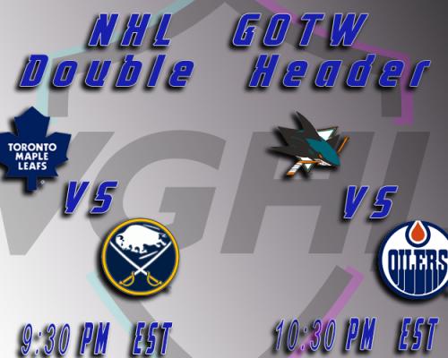 NHL GOTW 10:30pm