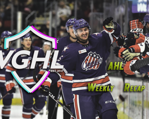 VGAHL Weekly Recap (Week 3)