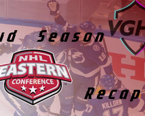 VGNHL Season 20 Mid-Season Eastern Conference Recap