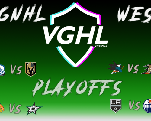 Season 20 VGNHL Western Playoff Preview