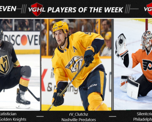 VGNHL Player of the Week - Week 7